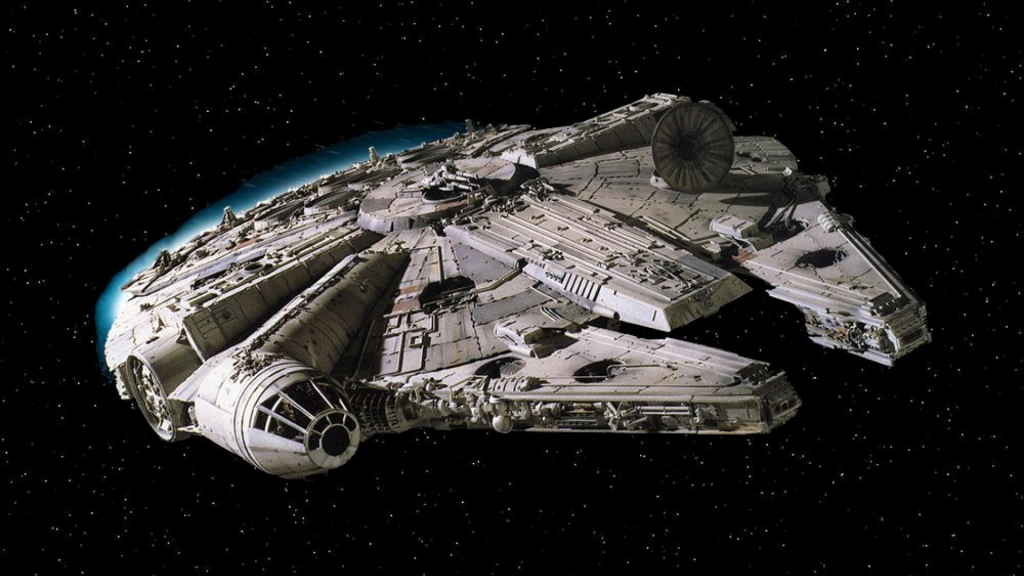 Star Wars, Millennium Falcon Wallpapers HD / Desktop and Mobile 1024x576
