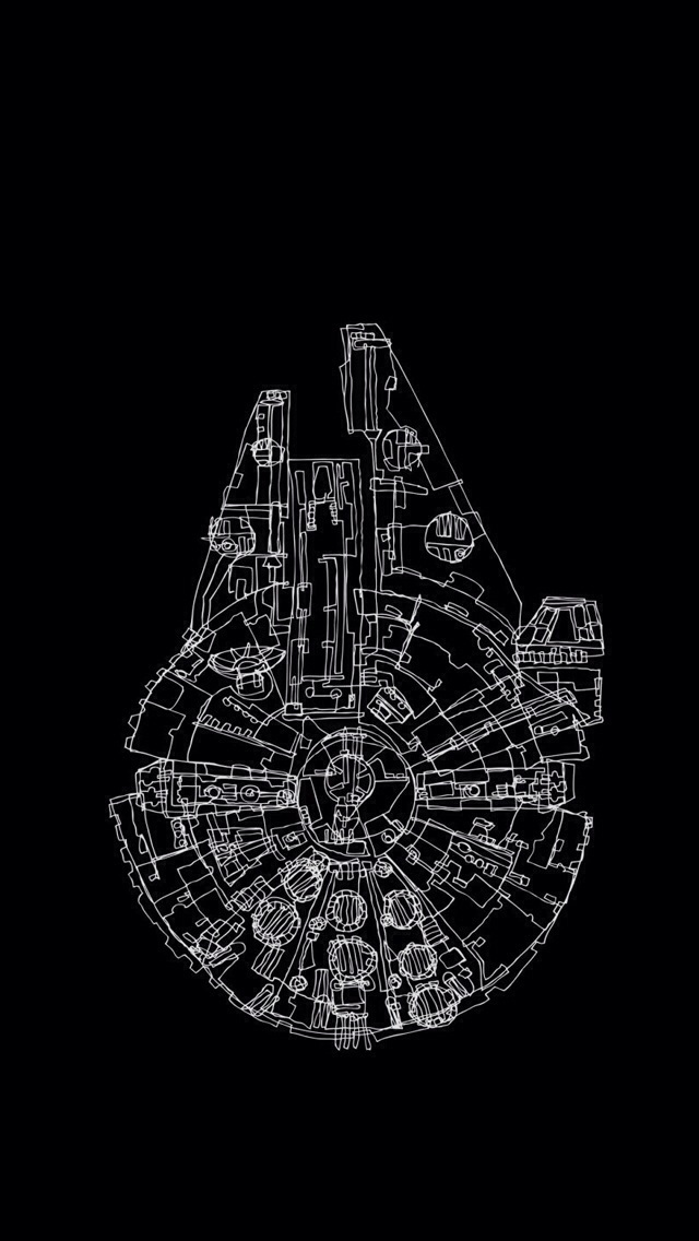 Phone backgrounds from a galaxy far, far away ( HQ Photos 640x1136