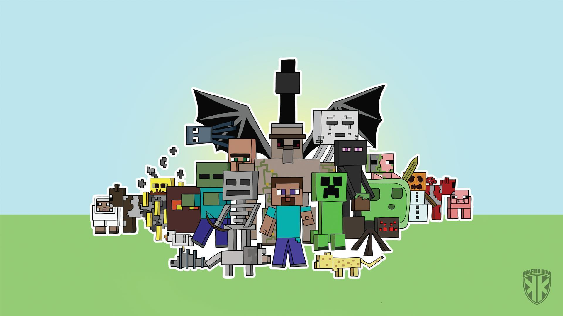 How to make cool Minecraft Wallpapers Minecraft Blog 1920x1080