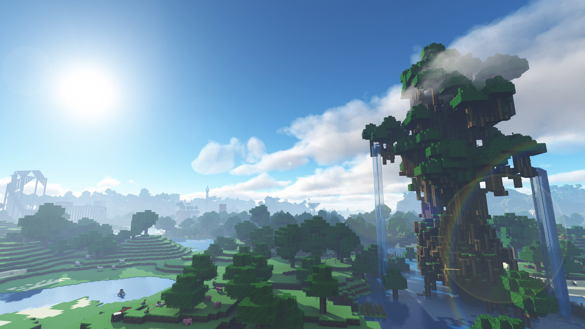 Download Wallpaper Minecraft Galaxy - Minecraft-Free-Wallpapers-045  Pictures_725542.jpg