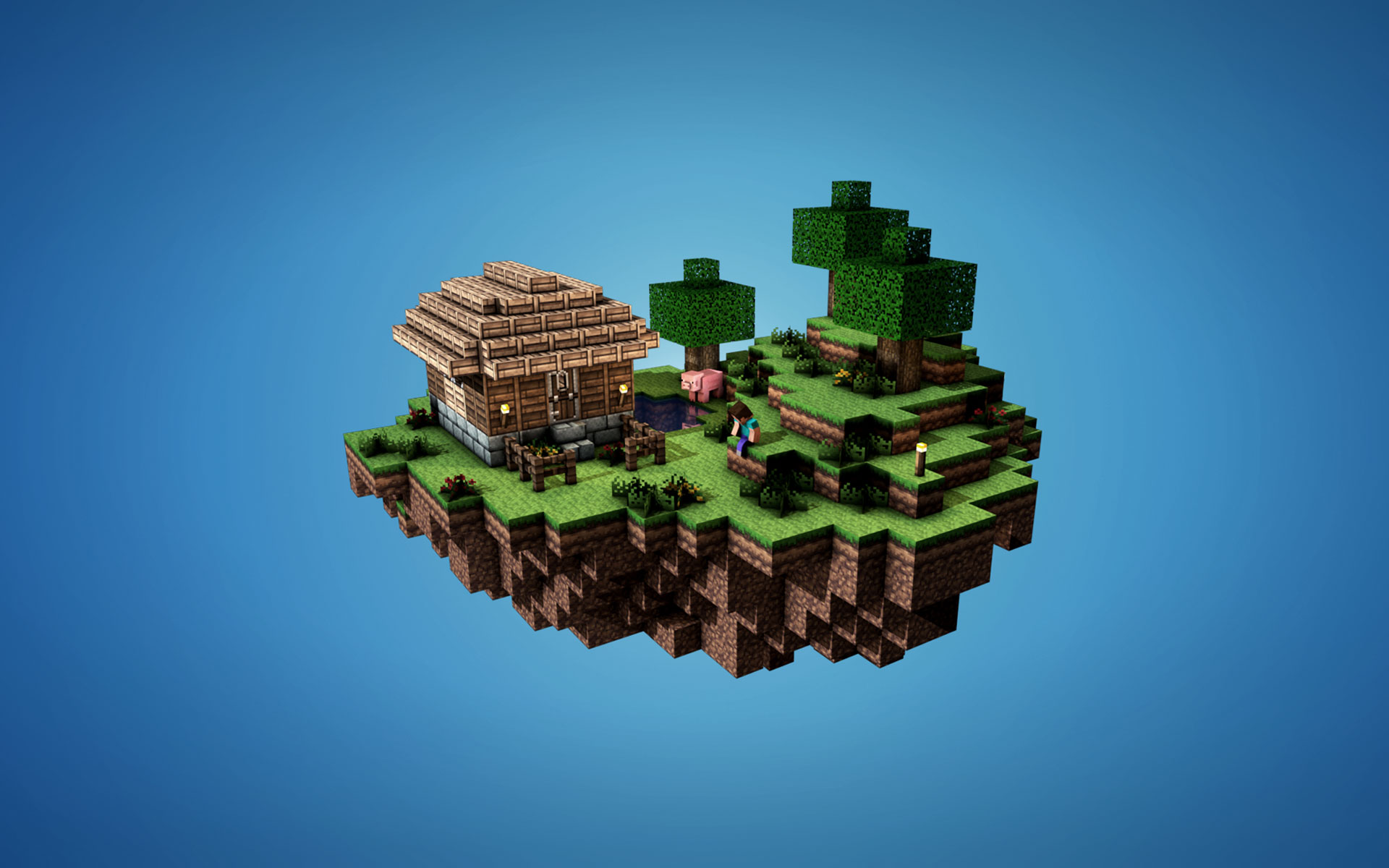 Collection of Minecraft Backgrounds, Minecraft High Quality Wallpapers 1920x1200