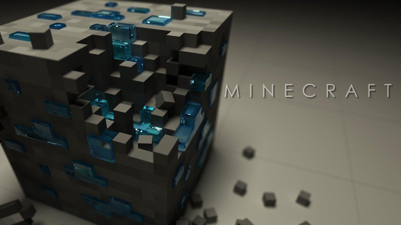 minecraft hd desktop wallpaper widescreen high definition 1600x900