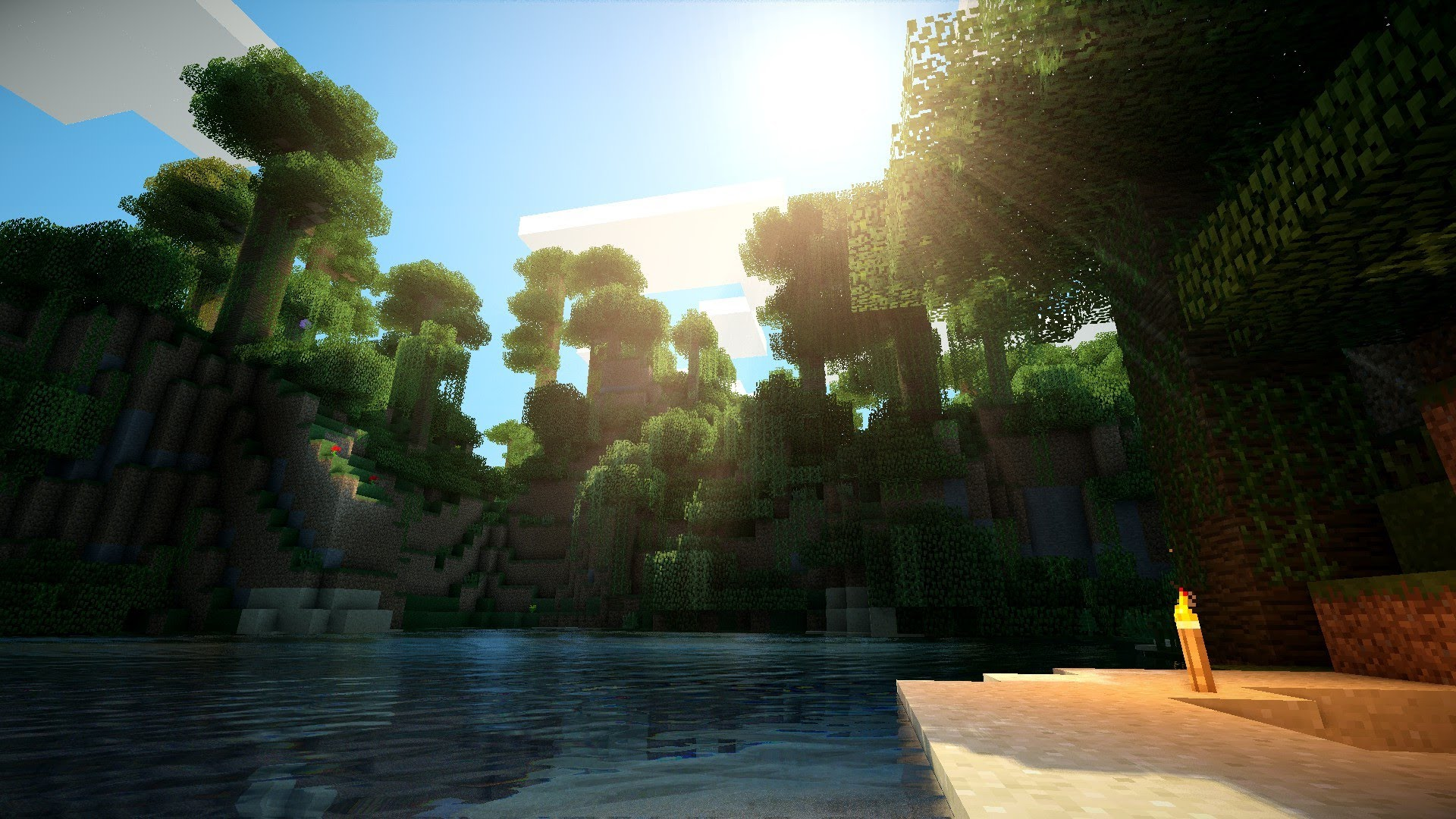 Minecraft Ultra Shaders Wallpapers P HD Album On Imgur 1920x1080