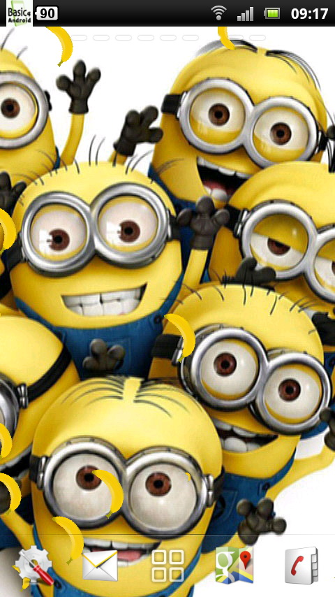 Minions wallpaper for android 36 wallpapers adorable - Photo de minion ...