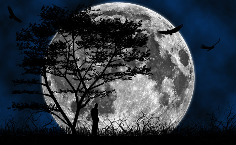 Beautiful Crescent Full Moon Wallpapers HD Pop 900x554