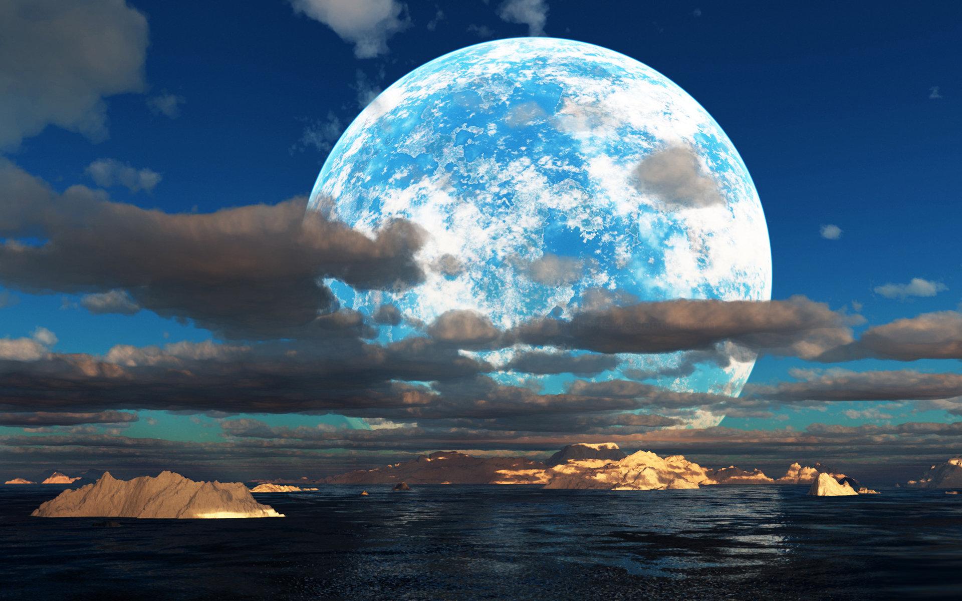Moonlight Wallpaper Free Download 1920x1200