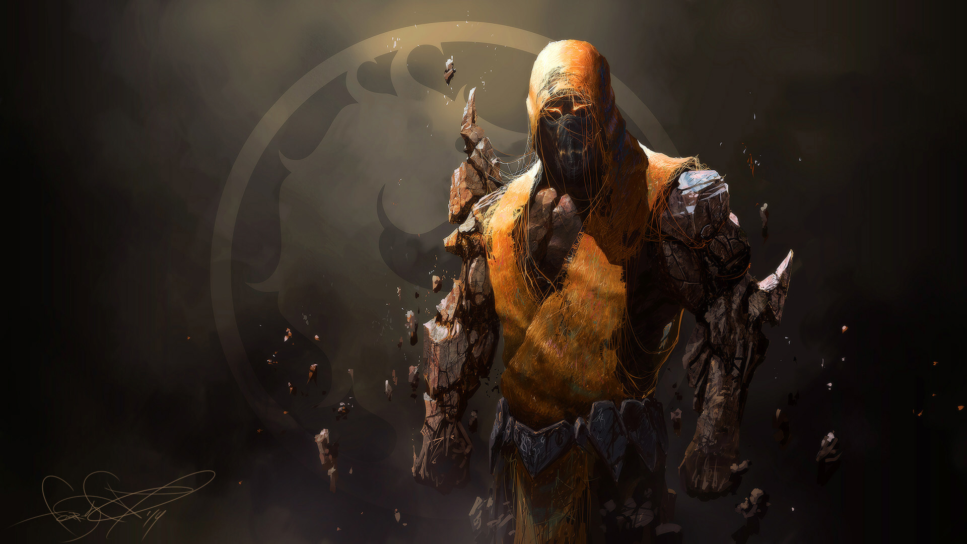 mortal kombat scorpion wallpapers wallpaper 1920x1080