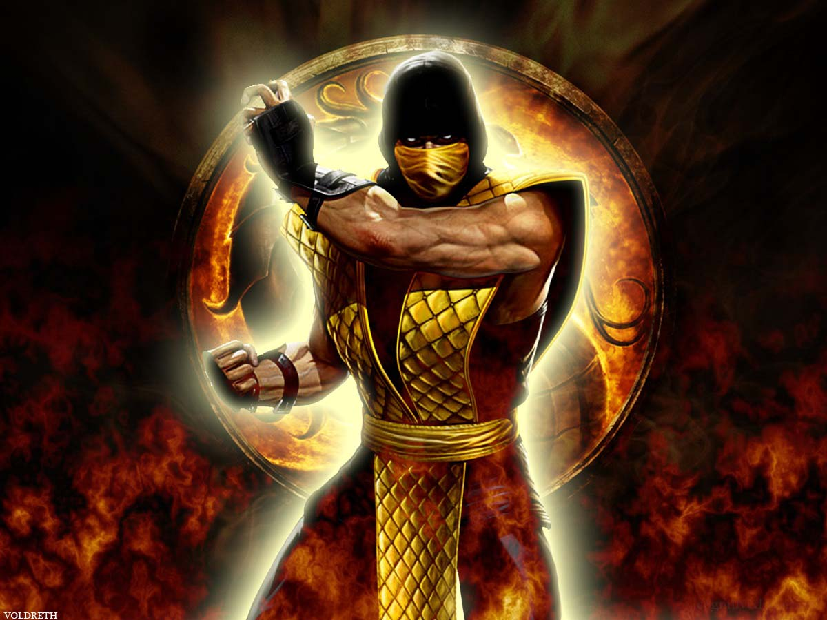 Mortal Kombat Scorpion Wallpapers Wallpaper 1200x900