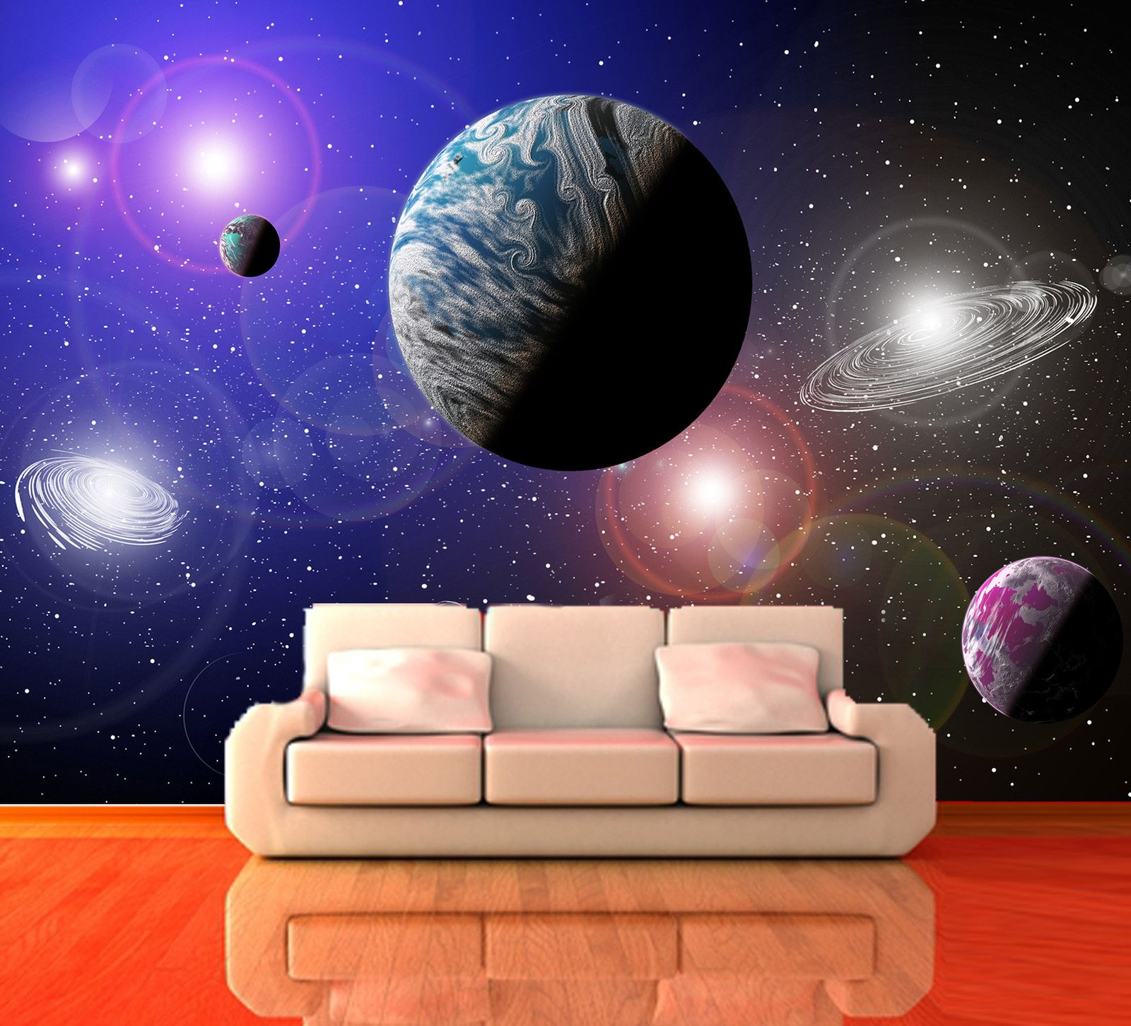 Universe Wall Mural Image collections home design wall stickers