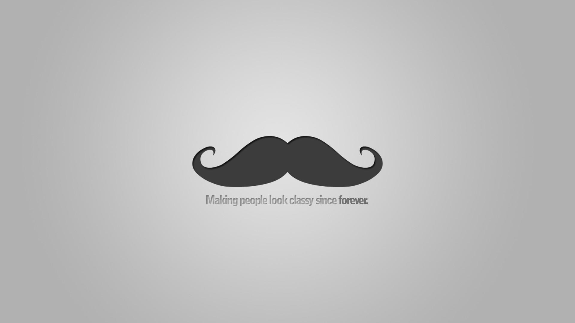 mustache wallpaper 009