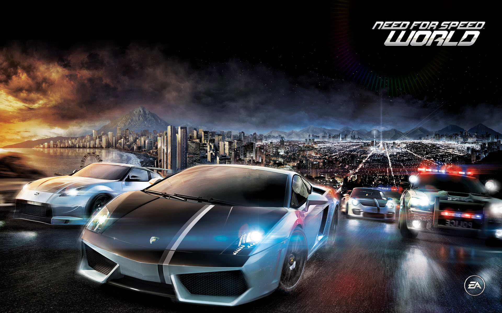 Need For Speed Most Wanted Hd Desktop Wallpaper High Definition
