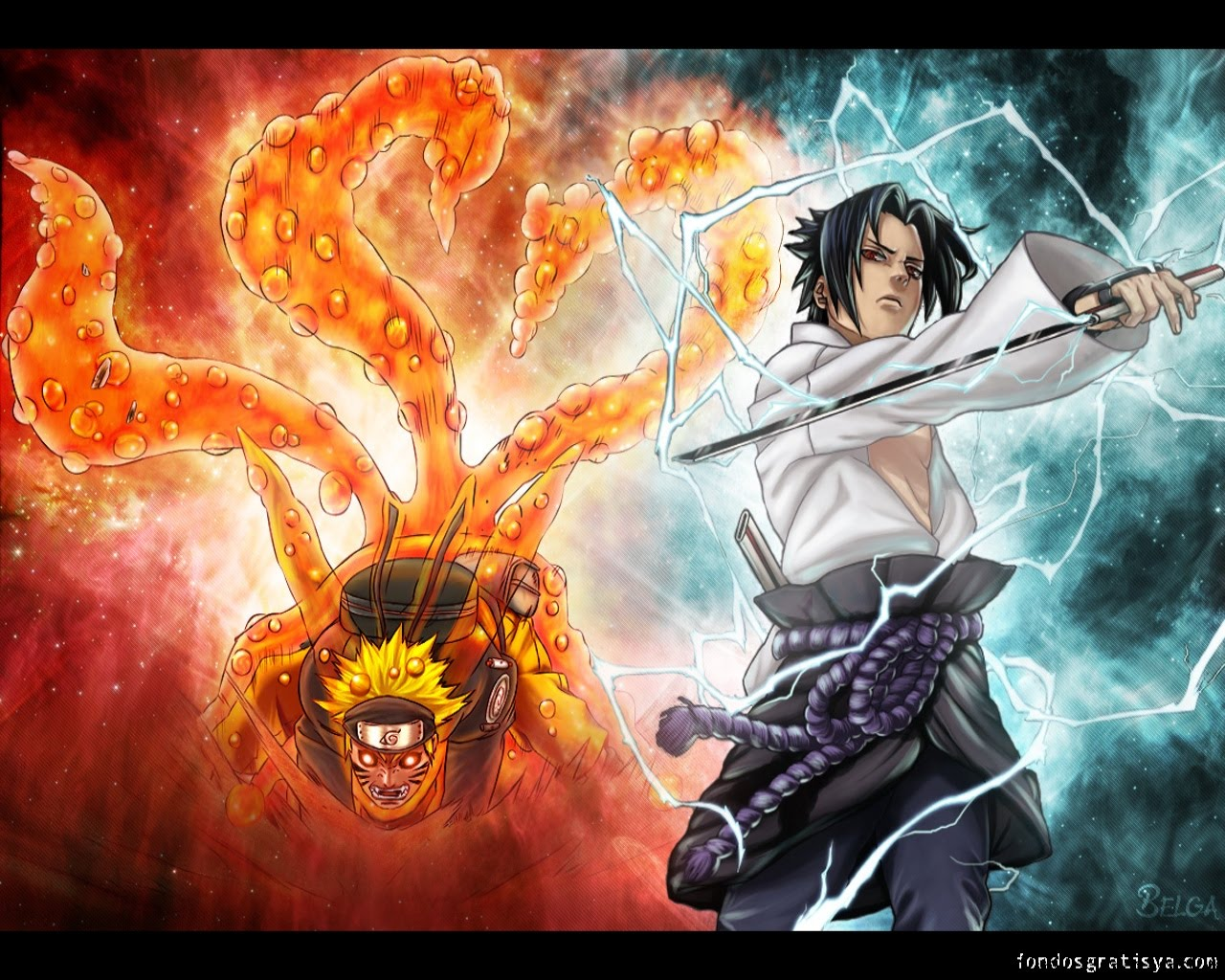 Download Mobile Wallpaper Cartoon Anime Naruto Free Jls