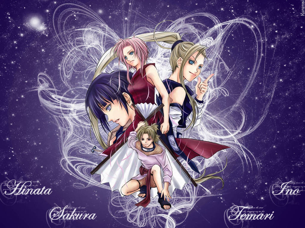 Naruto Girls Wallpapers Group  1024x768