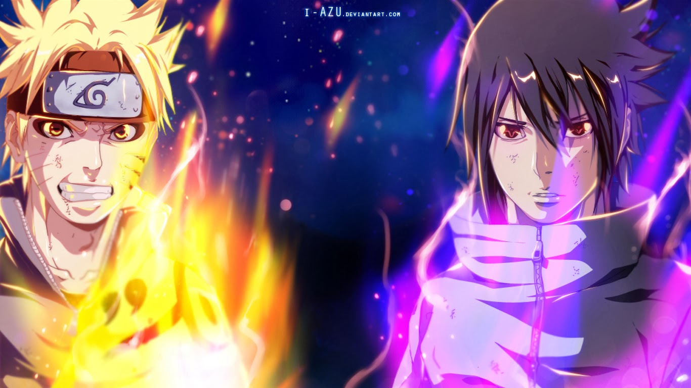 Cool Wallpapers Of Sasuke Uchiha Character Of Naruto 1366x768