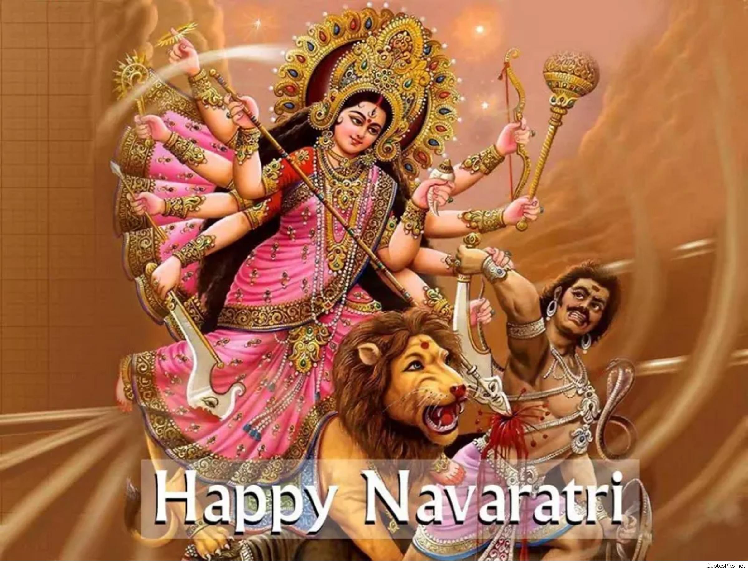 Wish You Happy Navratri D Animated Greeting Card Whatsapp