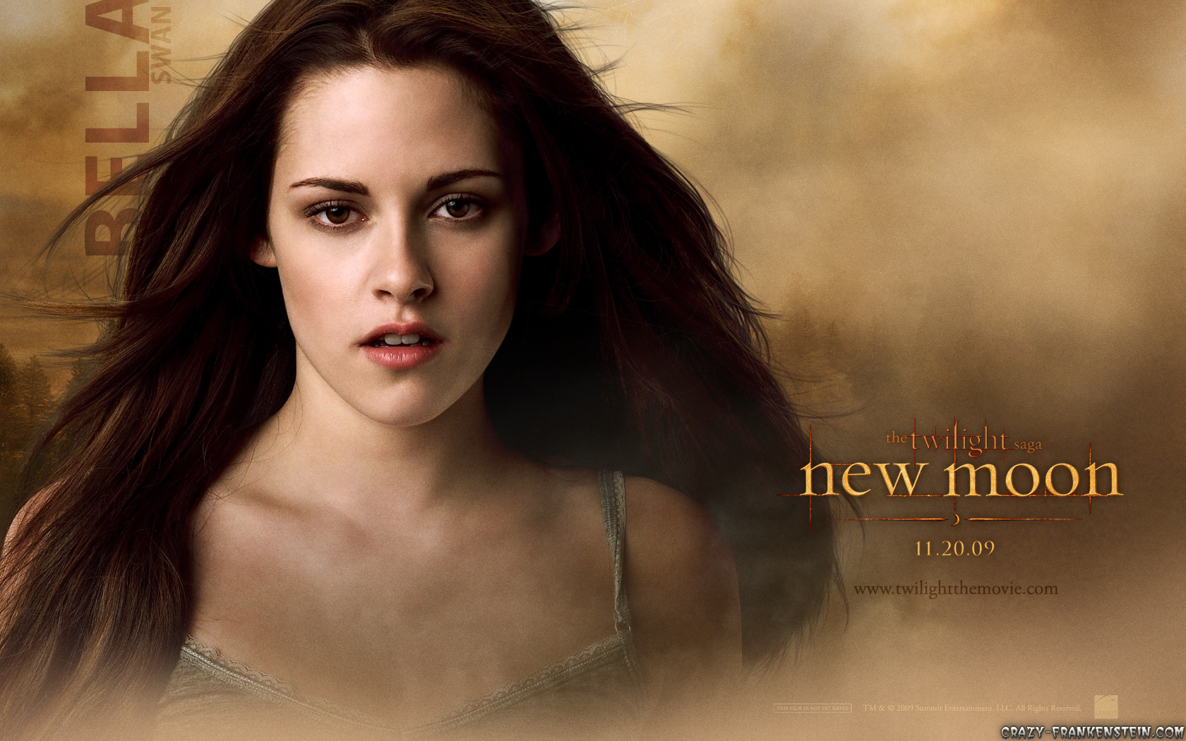Bella in Twilight New Moon Desktop Wallpaper 1680x1050