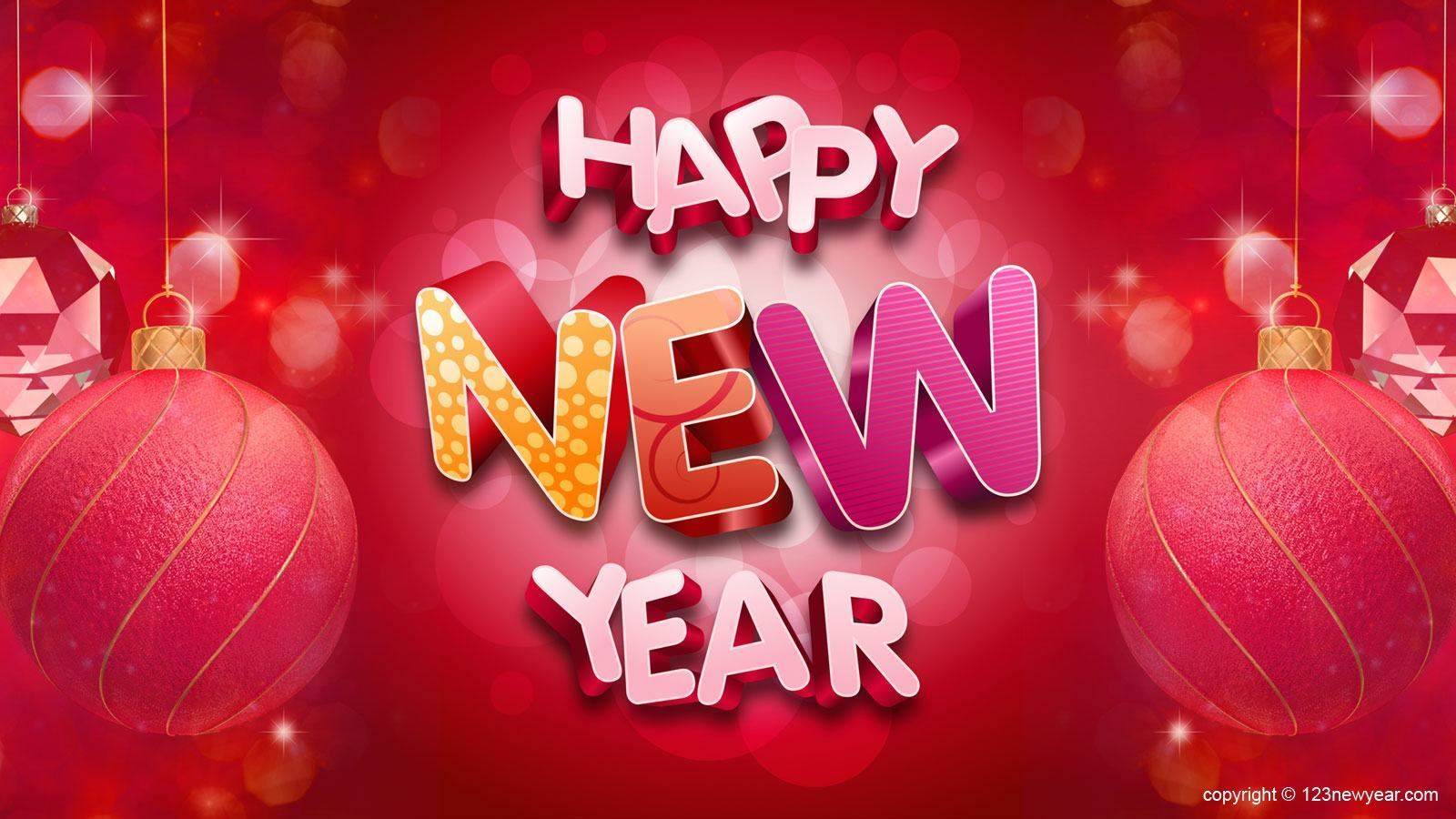 Happy New Year *  HD Images Free Download  New Year Image 1600x900