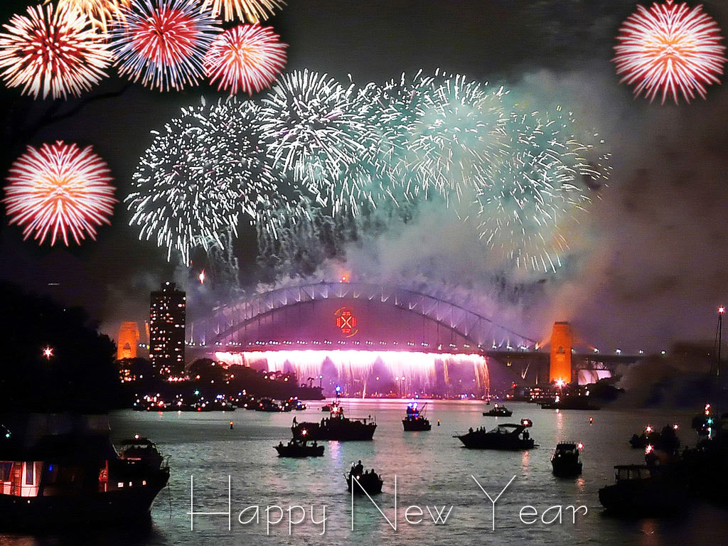 Happy New Year * HD Images Free Download New Year Image 1024x768