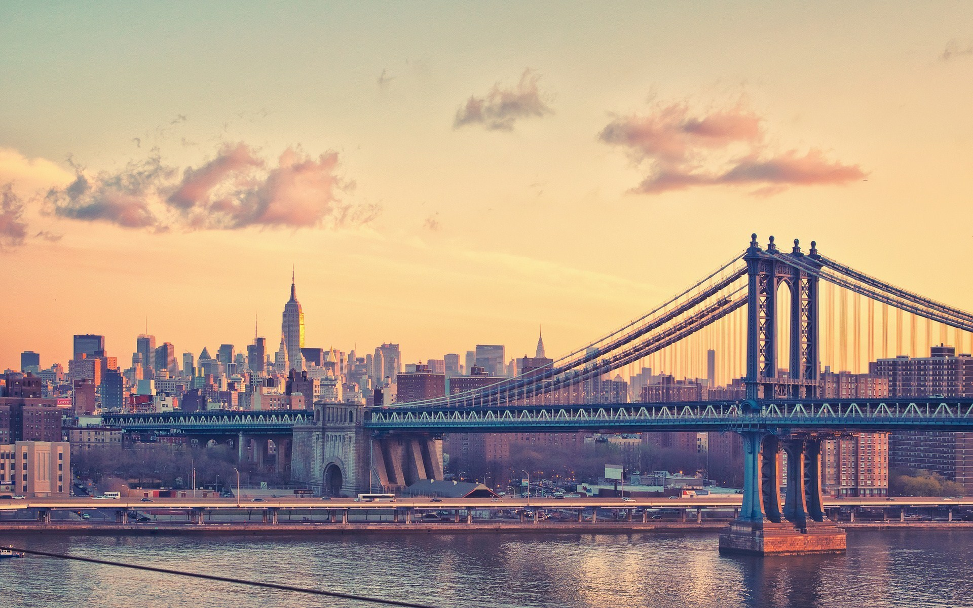 New York City Evening HD World k Wallpapers Images Backgrounds