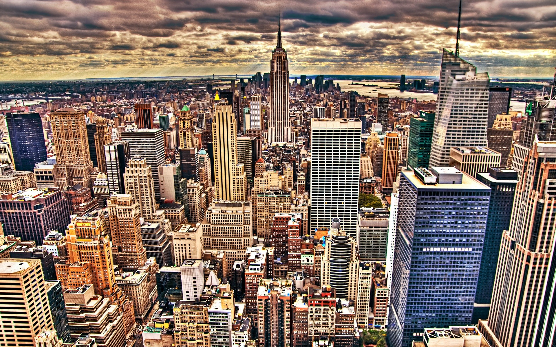 Skyline New York City Wallpaper Wallpaper Free Download 1920x1200