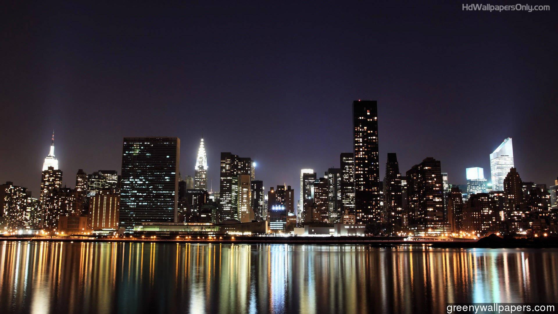 Skyline new york city wallpaper wallpaper free download 1920x1080 voltagebd Gallery