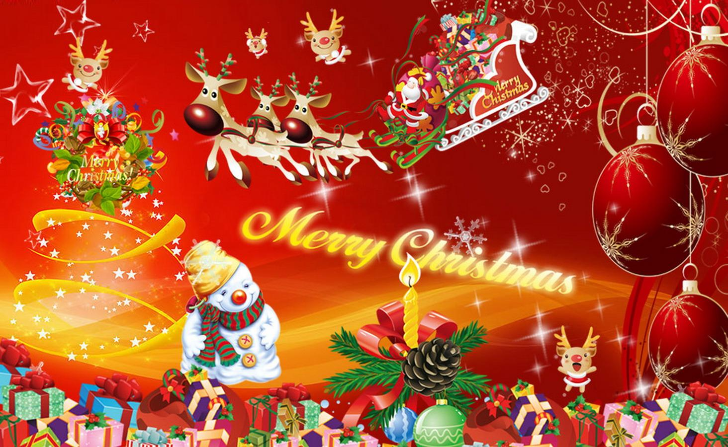 Nice Christmas Backgrounds (27 Wallpapers)