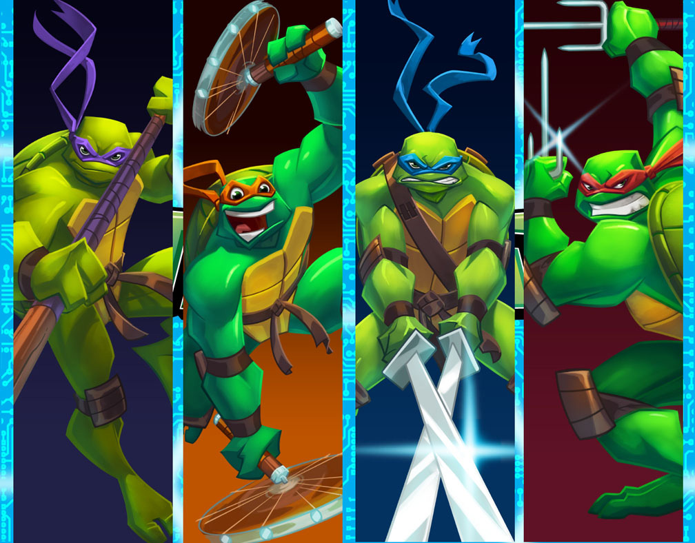 Teenage Mutant Ninja Turtles HD Desktop iPhone iPad 1008x788