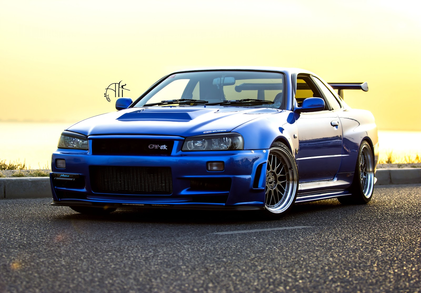 Nissan Skyline Gtr R Wallpaper   1600x1113