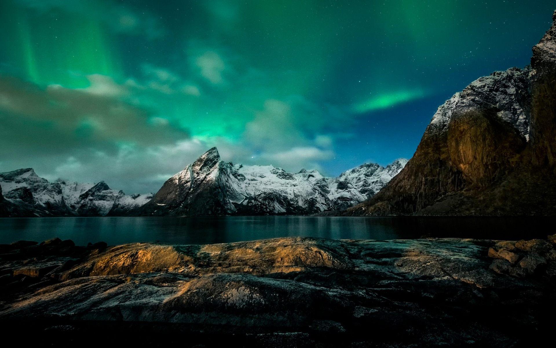 Full Hd P Northern Lights Wallpapers Hd Desktop Backgrounds 1920x1200