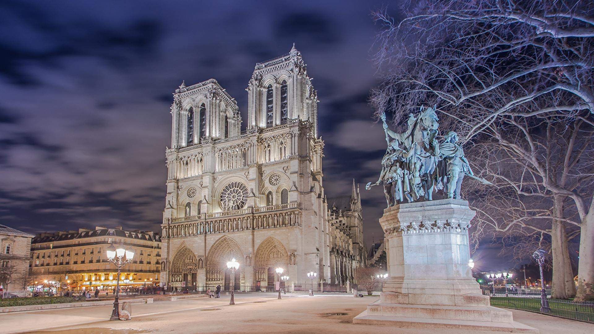 The Cathedral of Notre Dame in Paris inside wallpaper Catholic