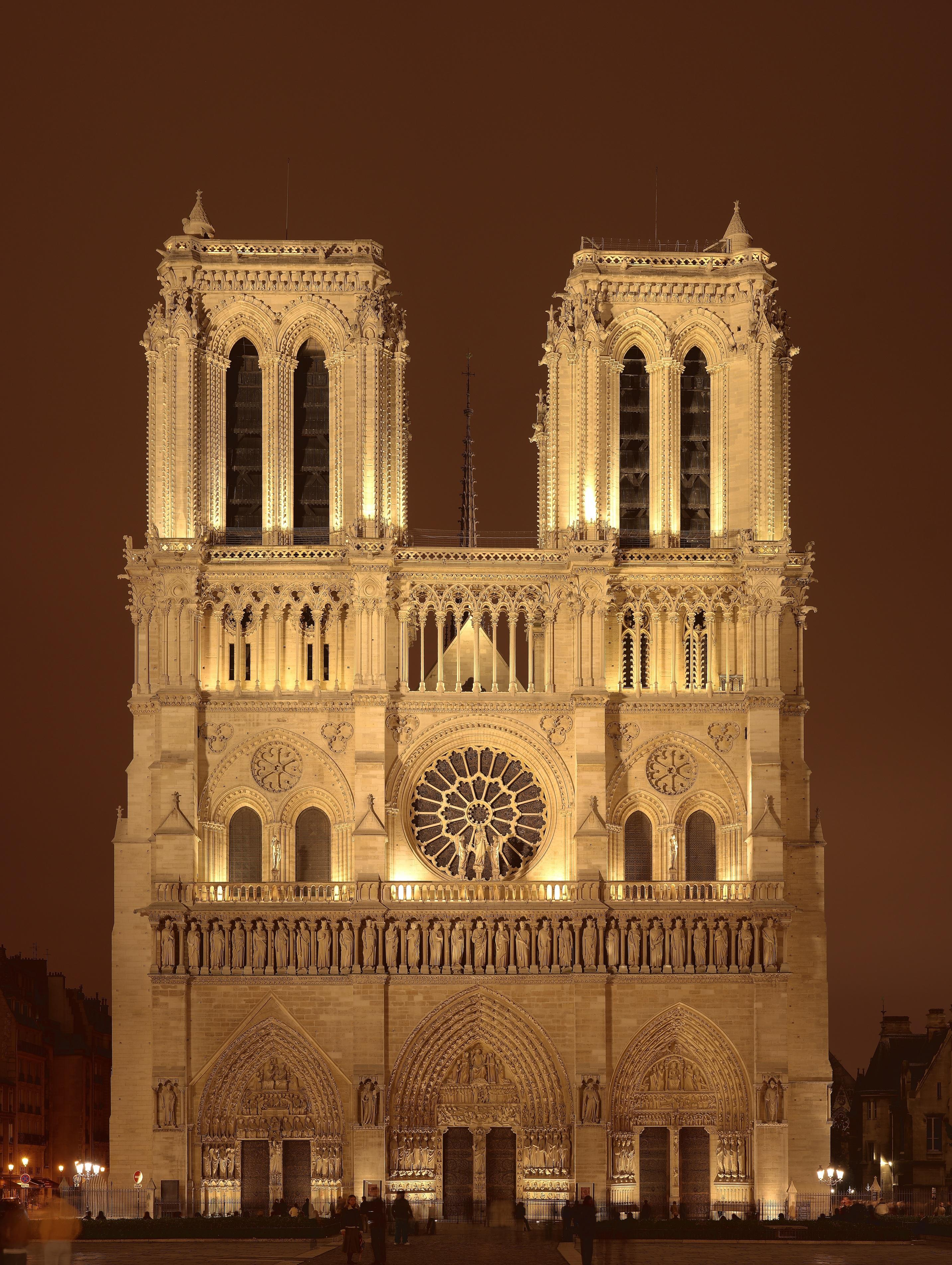 Notre Dame De Paris Wallpaper Free Download High Quality HD
