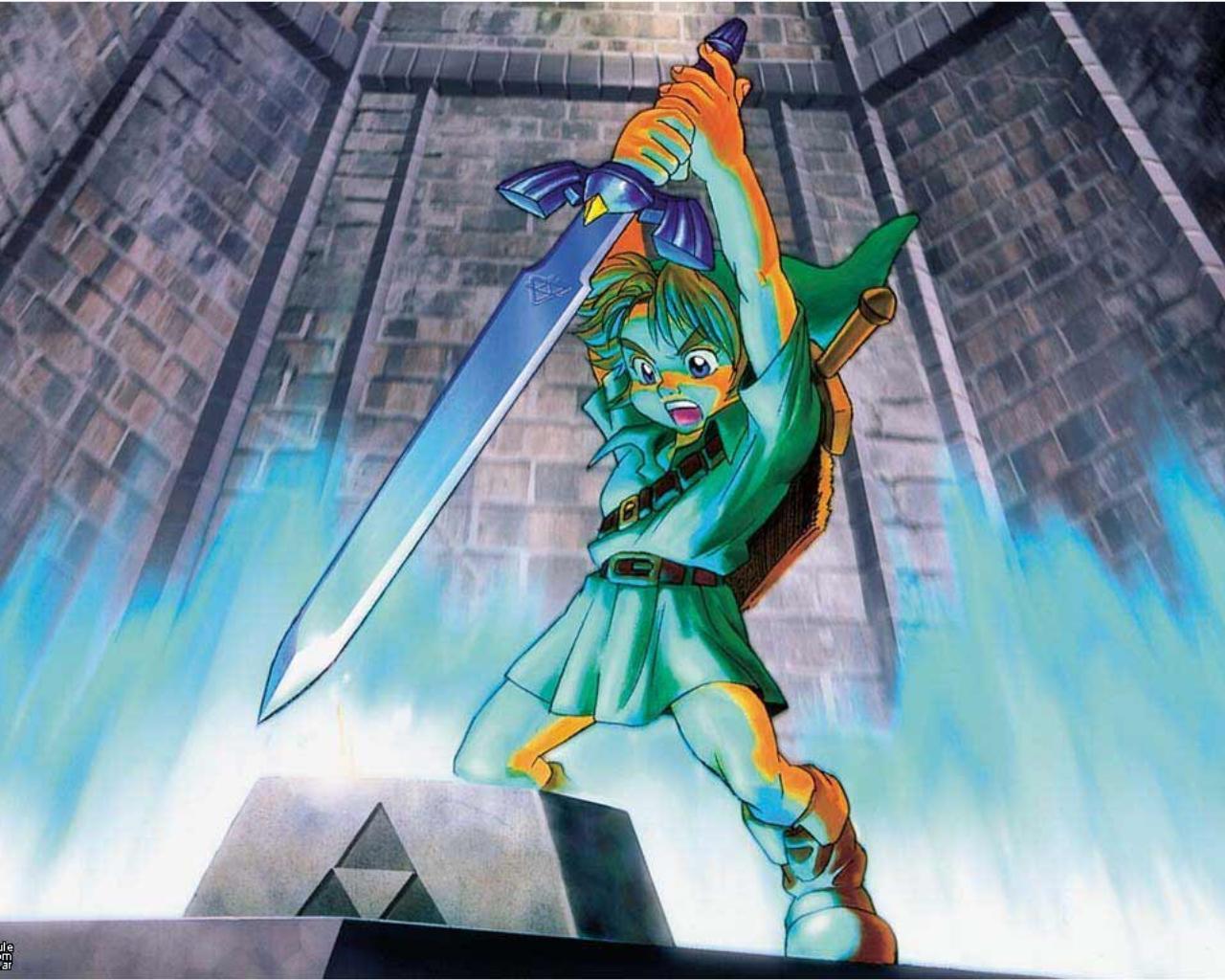 Ocarina Of Time 3d Wallpaper 32 Wallpapers Adorable