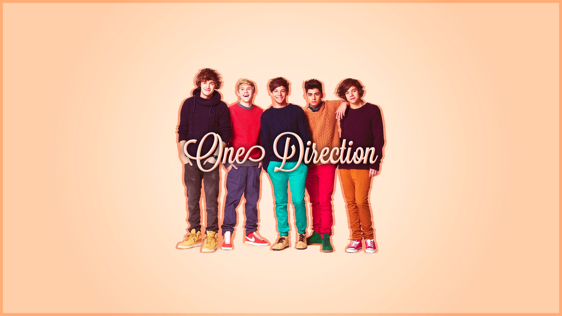 One Direction Iphone Wallpaper 1920x1080