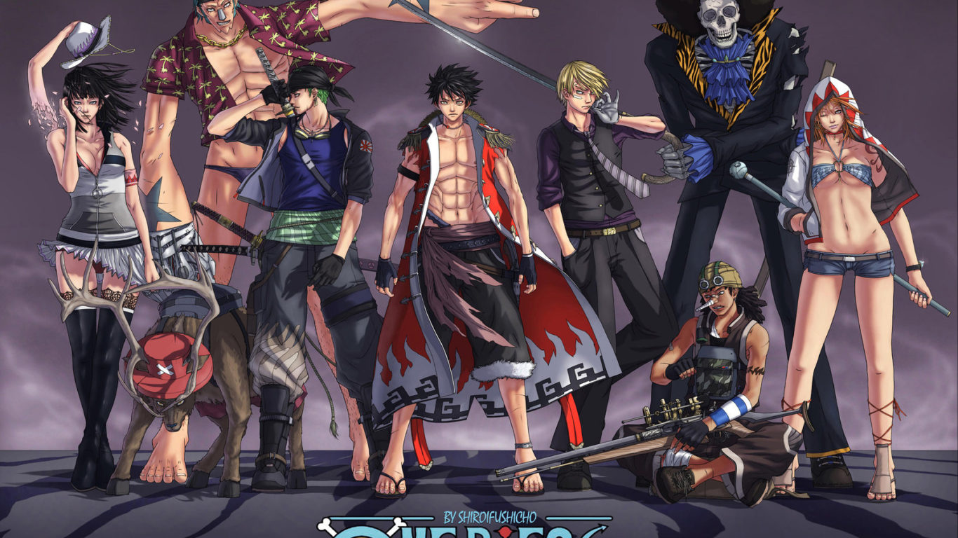 One Piece Wallpapers Freshwallpapers 1366x768