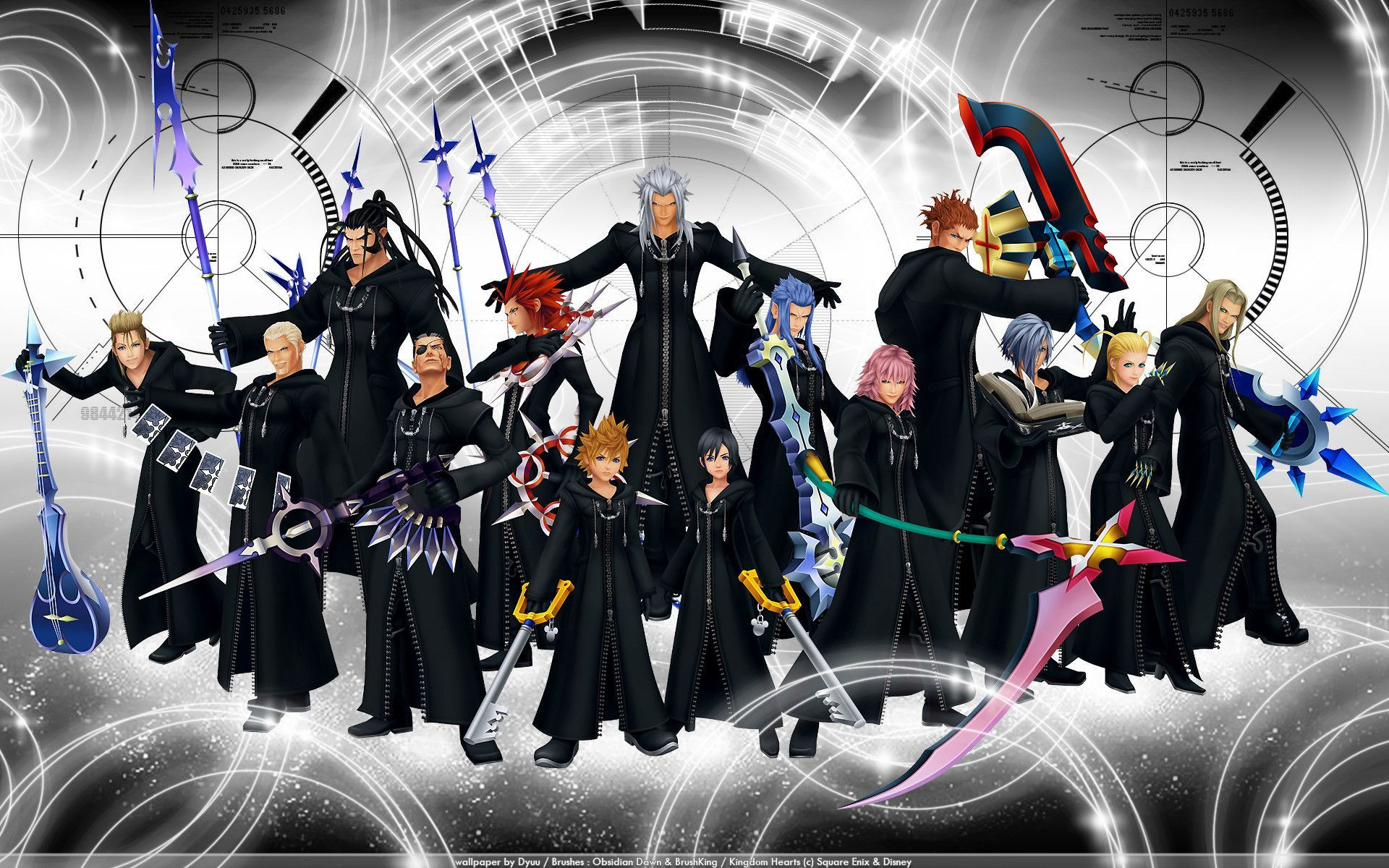Organization XIII Wallpapers (42 Wallpapers) – Adorable Wallpapers