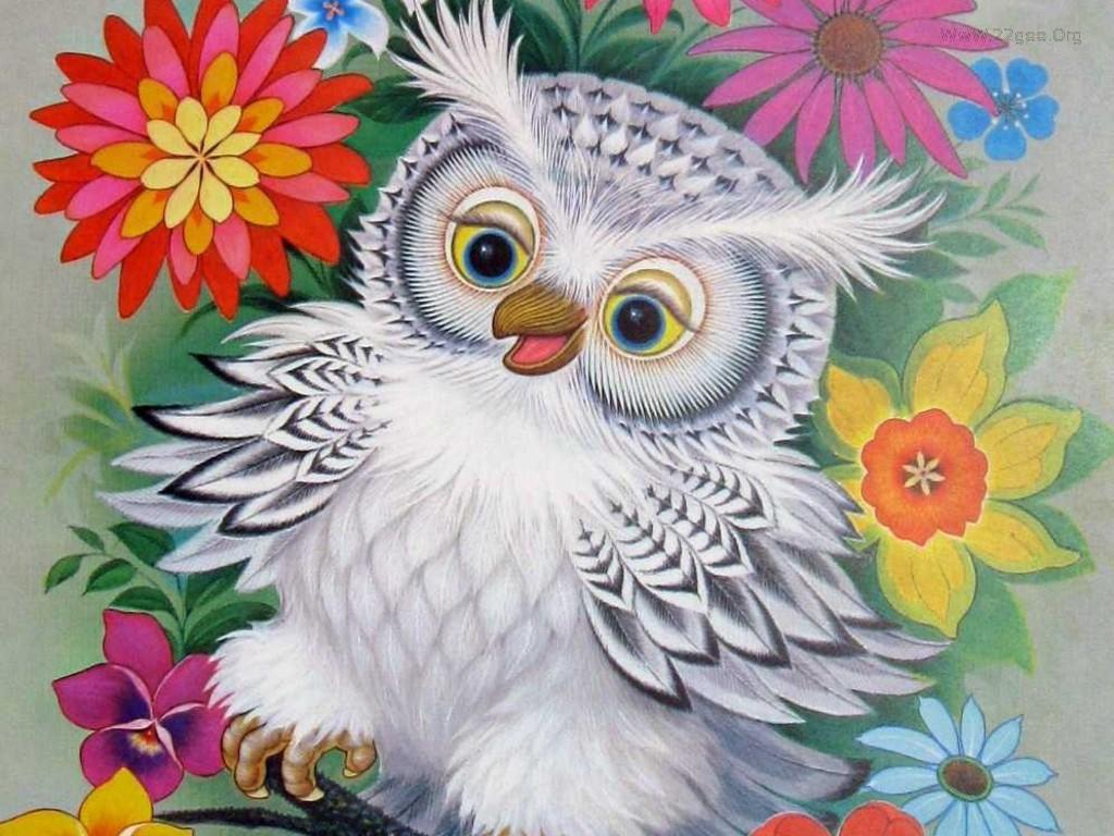 Ideas about cute owls wallpaper on pinterest owl 1024x768 voltagebd Image collections