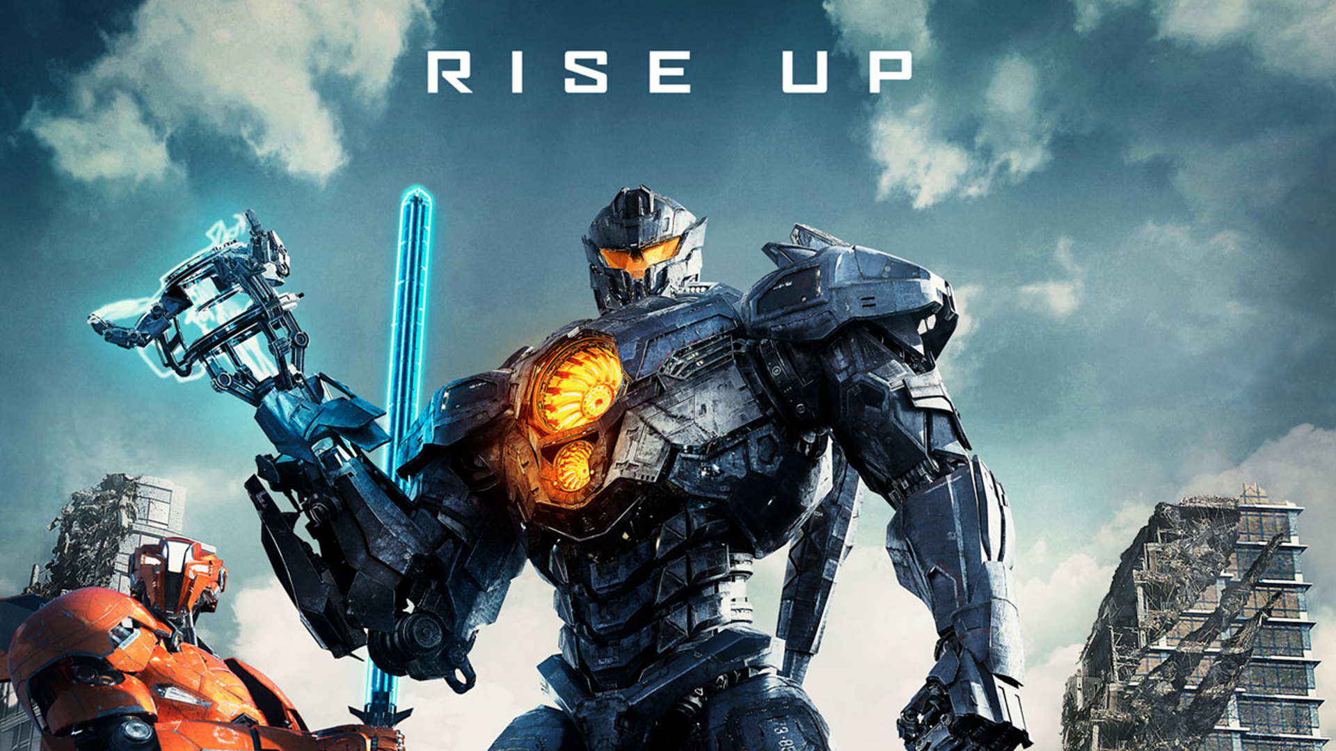 Download wallpapers Pacific Rim Uprising poster all