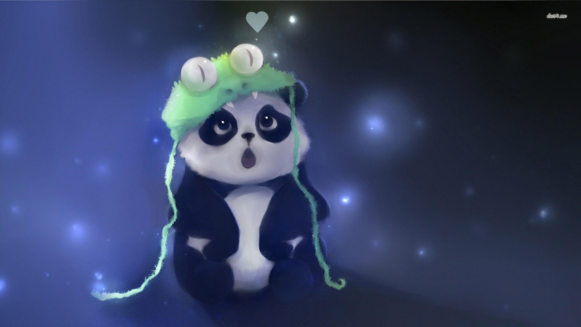 Fantastic Panda Wallpaper Te Panda Wallpaper Hd Resolution Anime Kawaii Iphone Tumblr S Cute 1920x1080