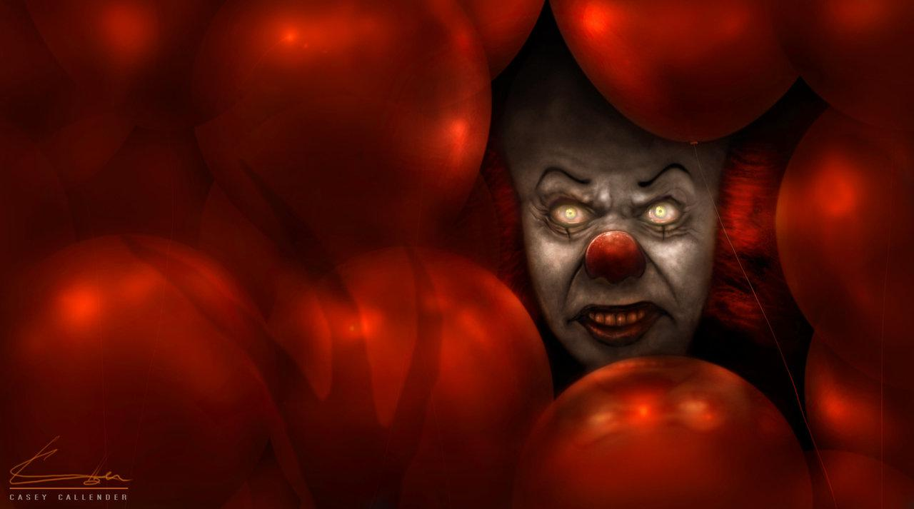 It movie Pennywise x Beautiful Wallpaper in