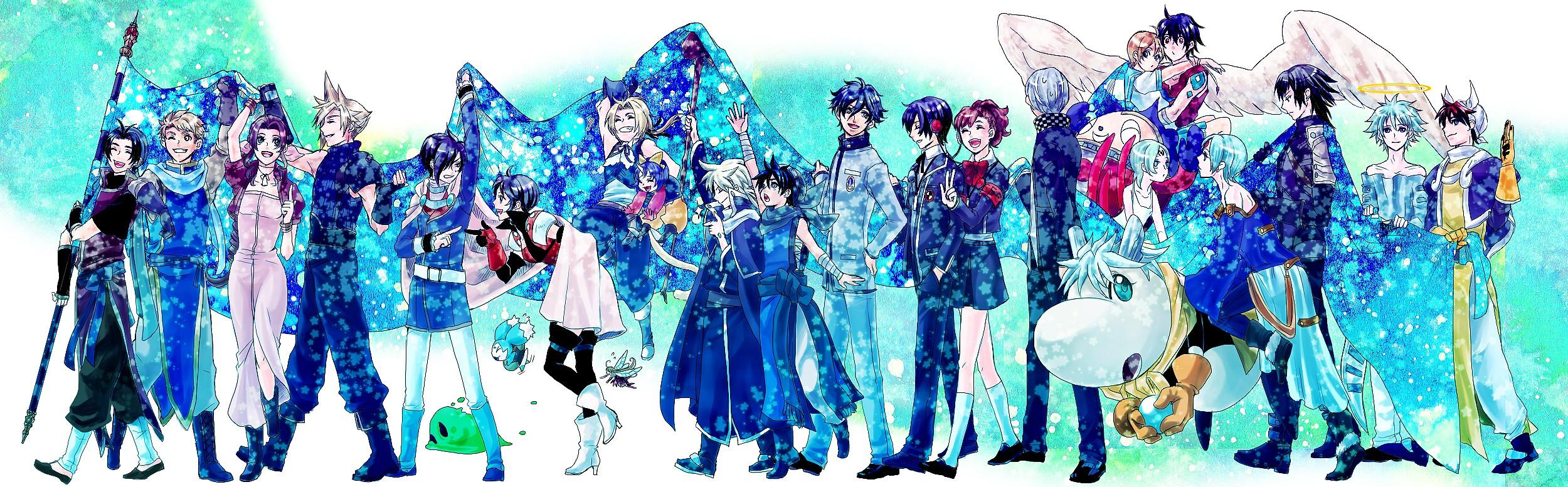 Persona Wallpapers Wallpaper 2500x777
