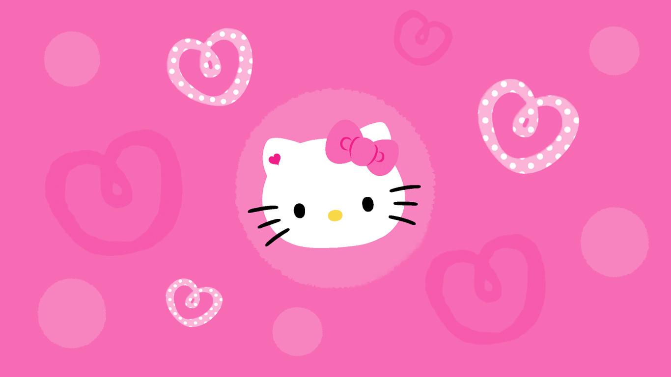 Top Wallpaper Hello Kitty Girly - Pink-Wallpaper-Hd-022  Pic_549314.jpg