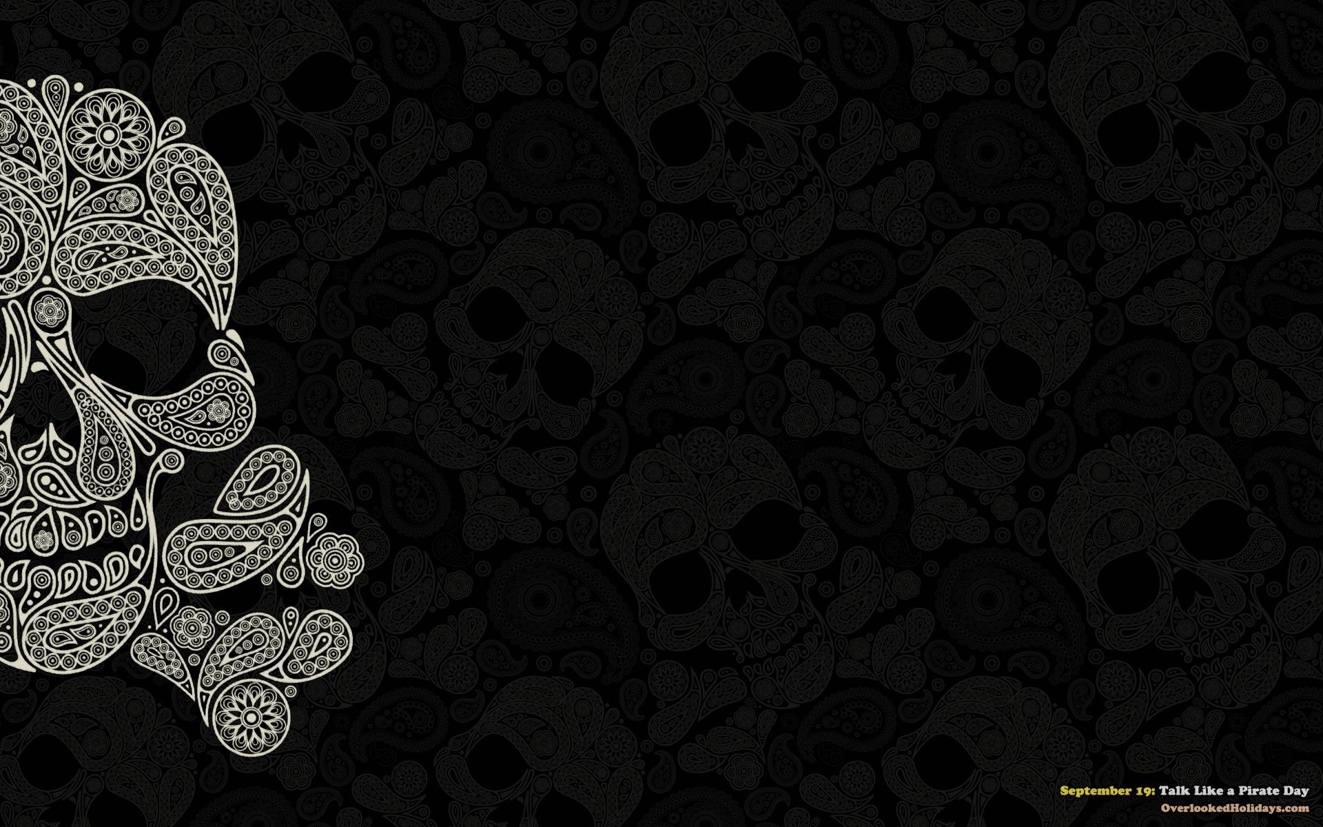 Pirate Skull Wallpaper 1920x1200