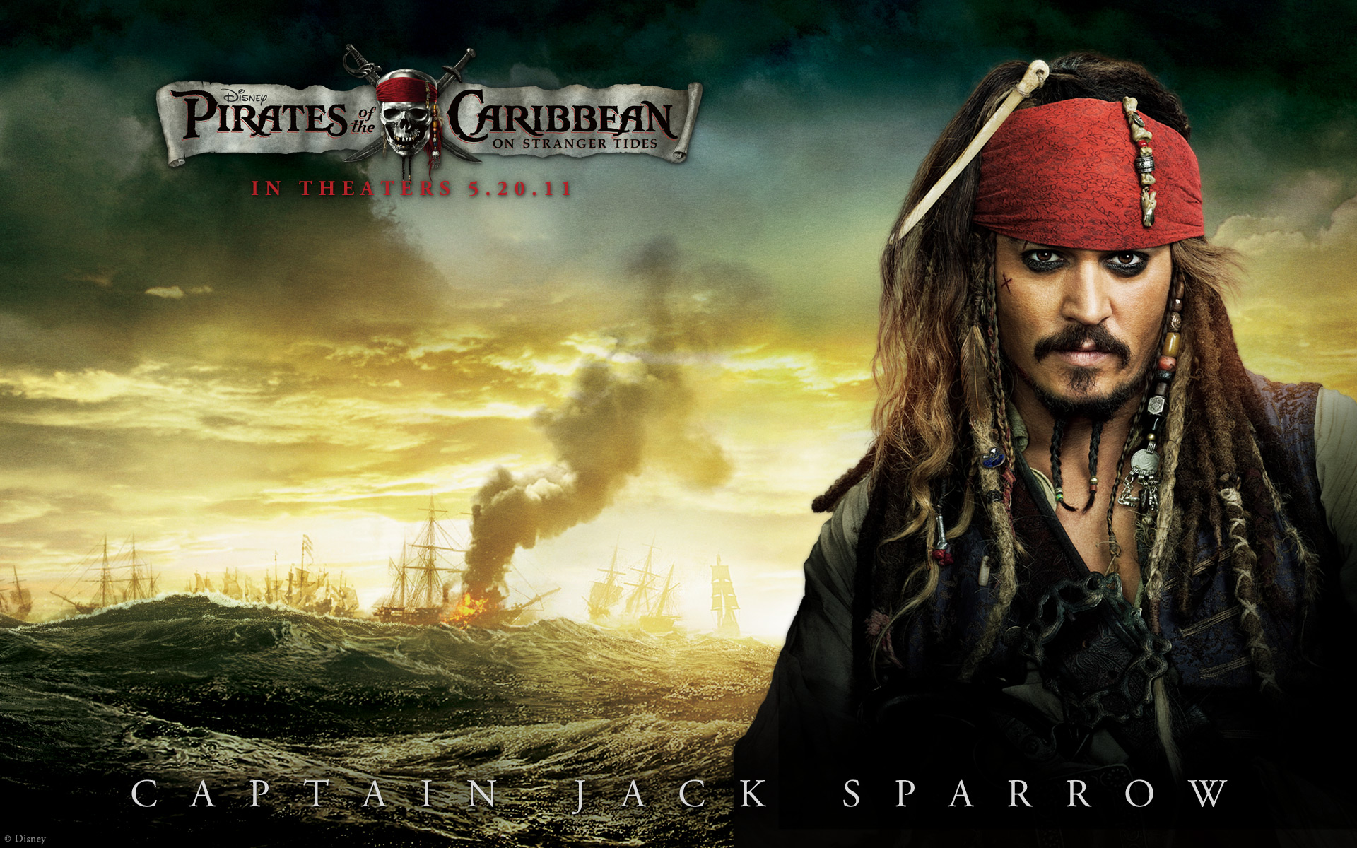 Pirates Of The Caribbean HD Wallpapers  Backgrounds 1920x1200