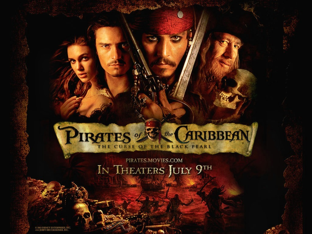 Pirates Of The Caribbean HD Wallpapers  Backgrounds  Wallpaper 1024x768