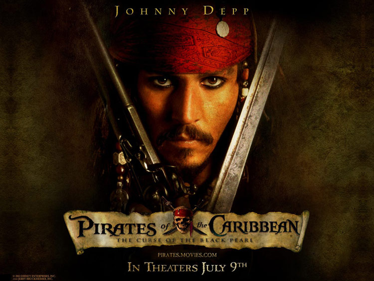 Pirates of the Caribbean Desktop Wallpaper 750x563