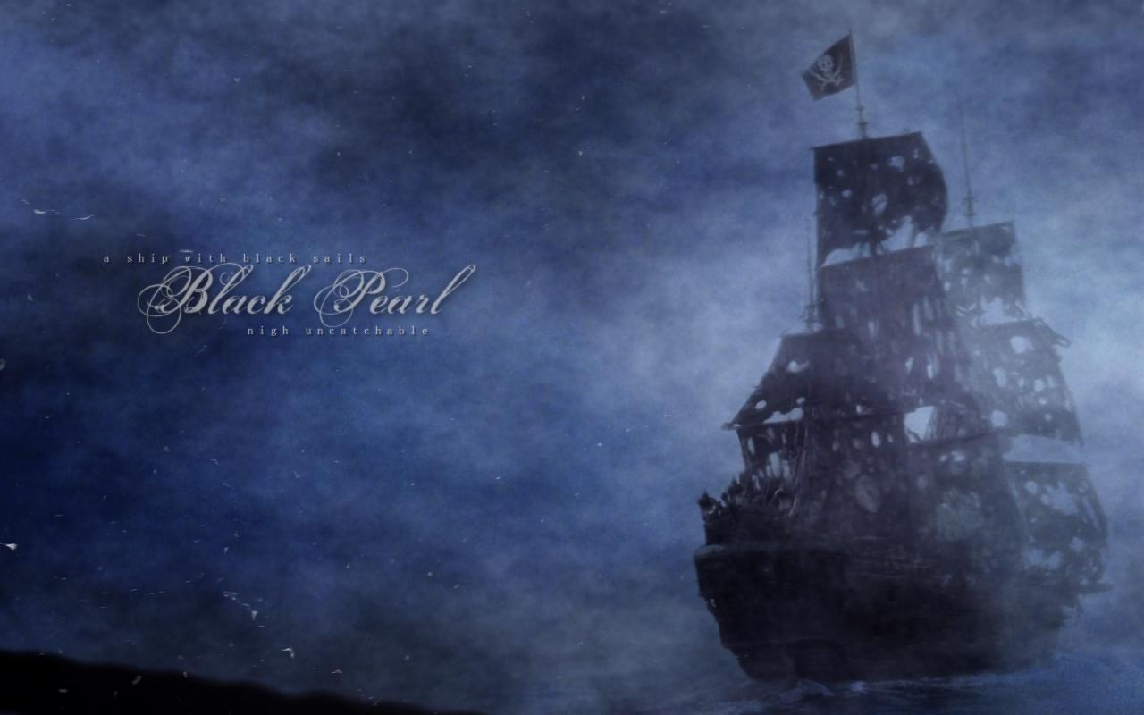 The Black Pearl Wallpaper on