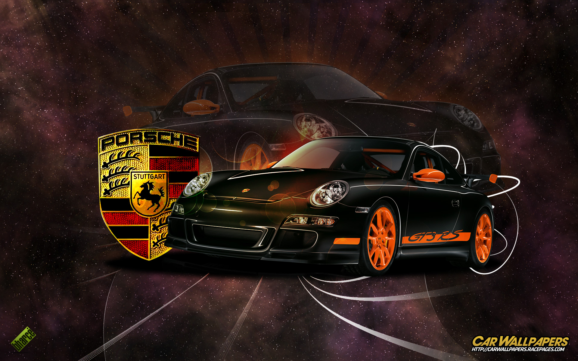 Download Auto And Vehicles Porsche Logo Wallpaper For Mobile Phone 1920x1200