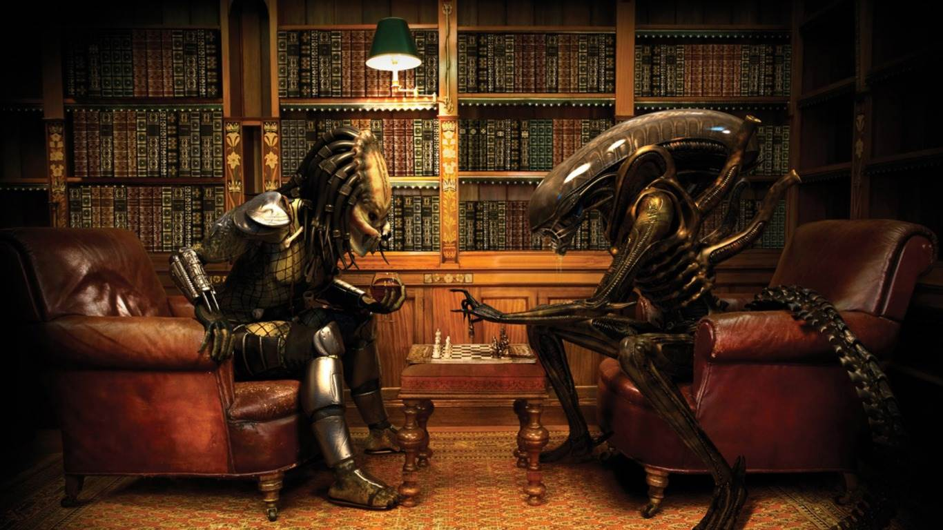 Alien Vs Predator Wallpaper: 3D by Free download best HD wallpapers and pictures - skringers.com