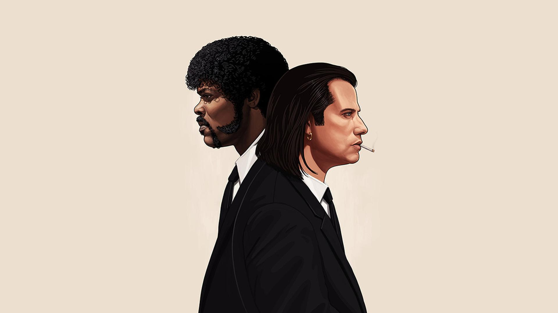 Pulp Fiction Vincent Vega Wallpaper for iPhone X Free rh
