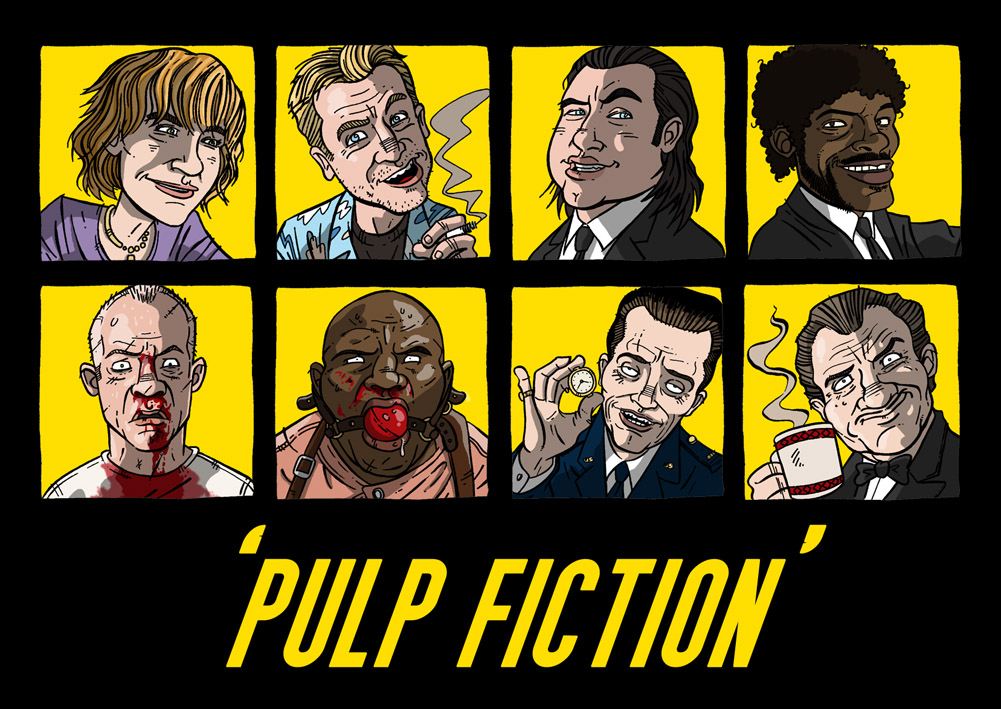 best Pulp Fiction images on Pinterest Movie posters Film